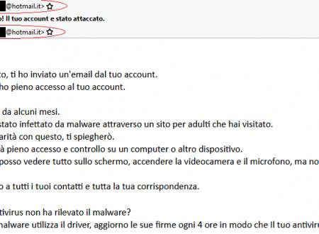 Smanettone informatico for Mail il tuo account e stato hackerato